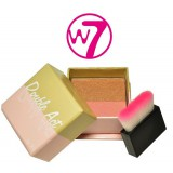 Blush Bronzing Double Act Kissed Bronze & Rose W7