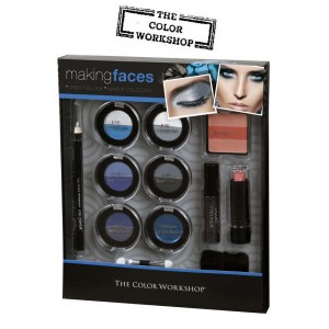 Coffret 16 Pieces Maquillage Aqua Bella Color Workshop