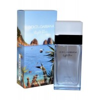 Eau de Toilette Spray 50ml Light Blue Love in Capri pour Femme