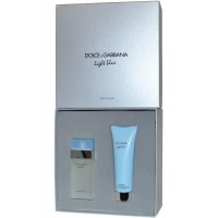 Eau de Toilette Spray 25ml & Refreshing Body Cream 50ml Light Blue