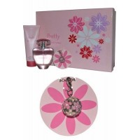 Eau de Parfum Spray 100ml Body Lotion 100ml and Pendant Pretty