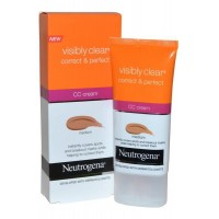 Visibly Clear CC Cream Correct+Perfect 50ml Medium Neutrogena