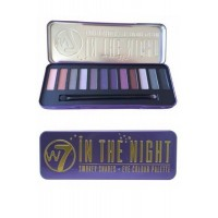 In The Night-Smokey Shades Eye Colour Palette W7 Cosmetics