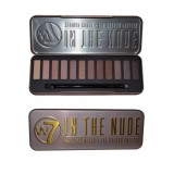 In The Nude Eye Palette 15,6 g Sélection de 12 teintes naturelles W7 Cosmetics W7