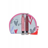 Cosmetic Bag with 2 Lip Crayons Ghost Girl