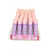 Lip Balm Display of 50 Love Hearts Swizzles Matlow