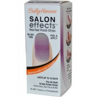 Real Nail Polish Strips Candy Stripe (04) Salon Effects
