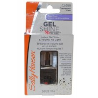 Top Coat Gel Shine 3D 13.3ml Transparent Clear
